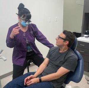 Aurora City Dental Doc and Patient